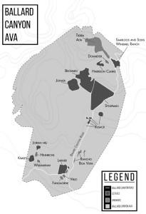 Ballard Canyon AVA map